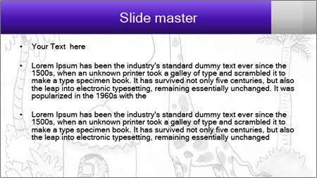 Utilizing giraffe's PowerPoint Template - Slide 2