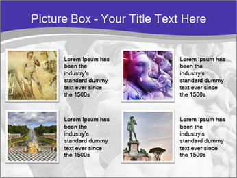 Statue of David PowerPoint Template - Slide 14