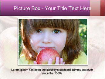Delicious muffins with apple PowerPoint Template - Slide 16