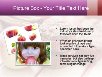 Delicious muffins with apple PowerPoint Template - Slide 20