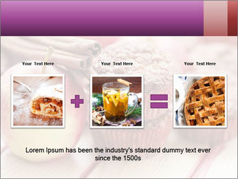 Delicious muffins with apple PowerPoint Template - Slide 22