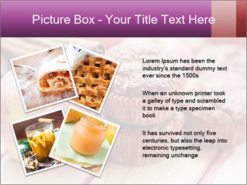 Delicious muffins with apple PowerPoint Template - Slide 23