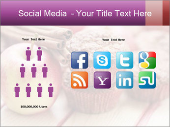 Delicious muffins with apple PowerPoint Template - Slide 5