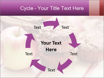 Delicious muffins with apple PowerPoint Template - Slide 62
