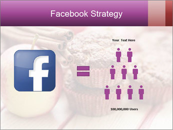 Delicious muffins with apple PowerPoint Template - Slide 7