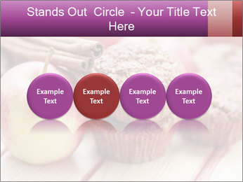 Delicious muffins with apple PowerPoint Template - Slide 76