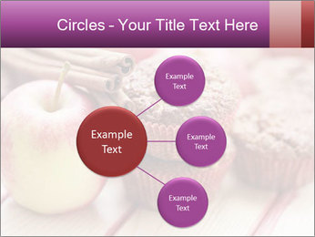 Delicious muffins with apple PowerPoint Template - Slide 79