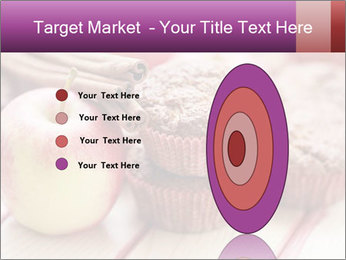 Delicious muffins with apple PowerPoint Template - Slide 84