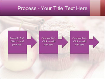 Delicious muffins with apple PowerPoint Template - Slide 88