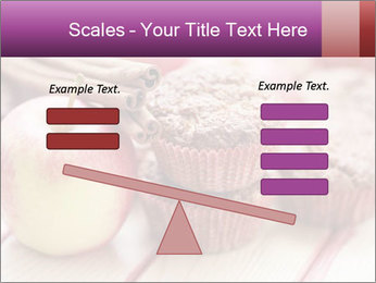 Delicious muffins with apple PowerPoint Template - Slide 89
