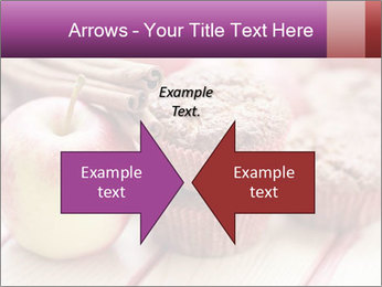 Delicious muffins with apple PowerPoint Template - Slide 90