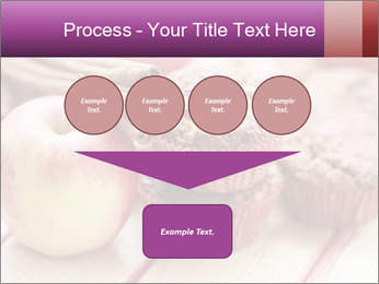 Delicious muffins with apple PowerPoint Template - Slide 93
