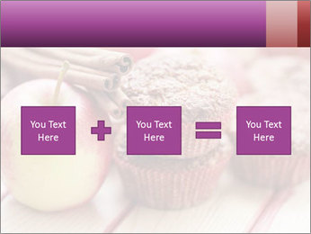 Delicious muffins with apple PowerPoint Template - Slide 95