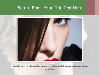 Bright  woman PowerPoint Template - Slide 16