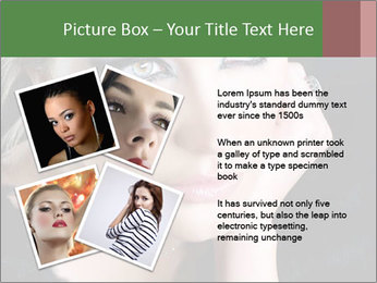 Bright  woman PowerPoint Template - Slide 23