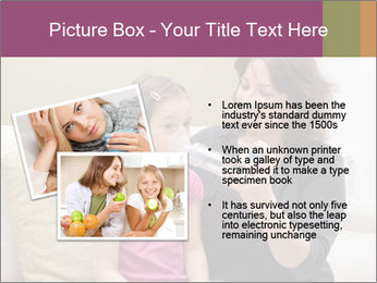 Mother using inhaler PowerPoint Template - Slide 20