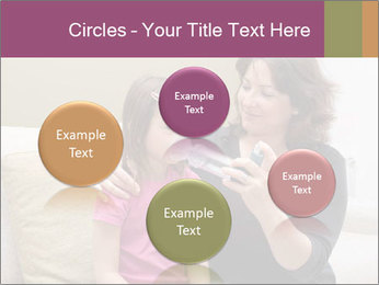 Mother using inhaler PowerPoint Template - Slide 77