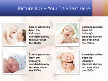 Two beautiful baby PowerPoint Template - Slide 14