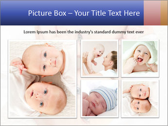 Two beautiful baby PowerPoint Template - Slide 19