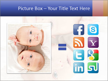 Two beautiful baby PowerPoint Template - Slide 21