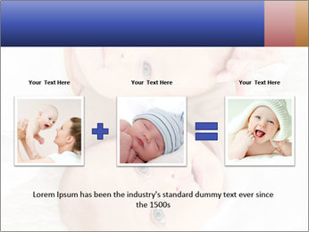 Two beautiful baby PowerPoint Template - Slide 22