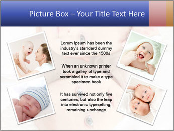 Two beautiful baby PowerPoint Template - Slide 24