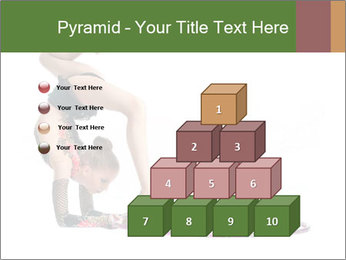 Young girl show PowerPoint Template - Slide 31
