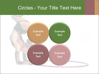 Young girl show PowerPoint Template - Slide 38