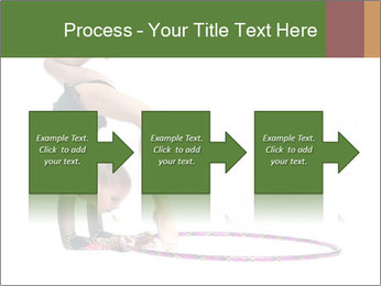 Young girl show PowerPoint Template - Slide 88