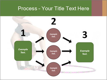 Young girl show PowerPoint Template - Slide 92