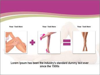 Beautiful female legs PowerPoint Template - Slide 22