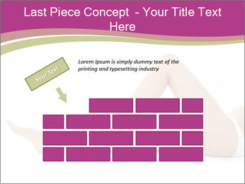 Beautiful female legs PowerPoint Template - Slide 46