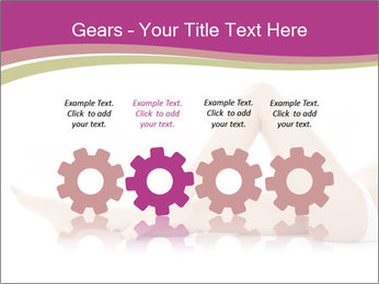 Beautiful female legs PowerPoint Template - Slide 48