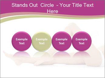 Beautiful female legs PowerPoint Template - Slide 76
