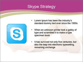 Beautiful female legs PowerPoint Template - Slide 8