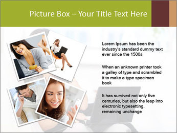 Beautiful woman at home PowerPoint Template - Slide 23