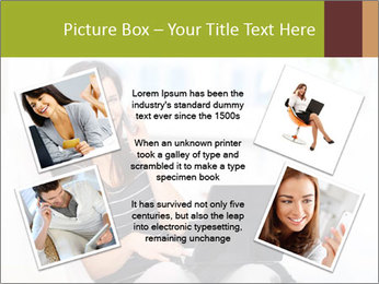 Beautiful woman at home PowerPoint Template - Slide 24