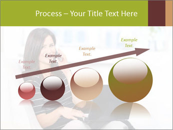 Beautiful woman at home PowerPoint Template - Slide 87
