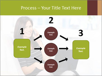 Beautiful woman at home PowerPoint Template - Slide 92