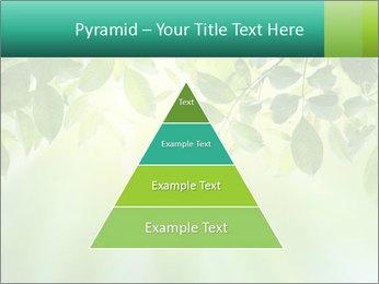 Green leaves PowerPoint Template - Slide 30
