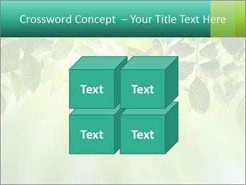 Green leaves PowerPoint Template - Slide 39