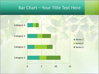 Green leaves PowerPoint Template - Slide 52
