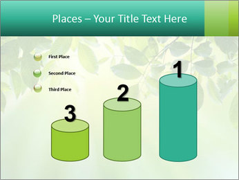Green leaves PowerPoint Template - Slide 65