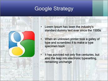 Multiple Power Lines PowerPoint Template - Slide 10
