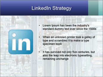 Multiple Power Lines PowerPoint Template - Slide 12