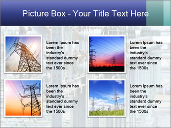 Multiple Power Lines PowerPoint Templates - Slide 14