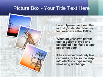 Multiple Power Lines PowerPoint Templates - Slide 17