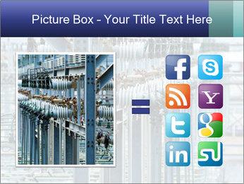 Multiple Power Lines PowerPoint Template - Slide 21