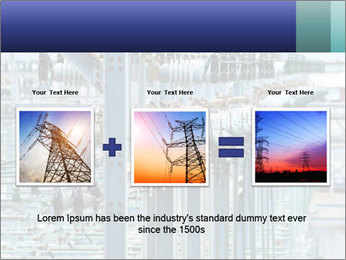 Multiple Power Lines PowerPoint Templates - Slide 22