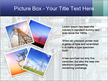 Multiple Power Lines PowerPoint Templates - Slide 23